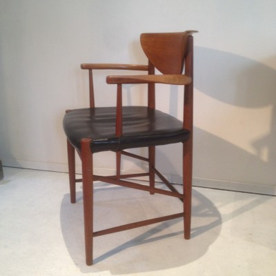 Office Chair by Peter Hvidt for Soborg Mobler