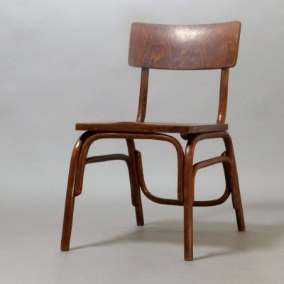 2 x B403 dining chair by Ferdinand Kramer for Thonet, 1920s
