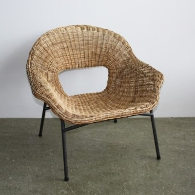 Model 592 lounge chair from the fifties by Dirk van Sliedregt for Jonkers