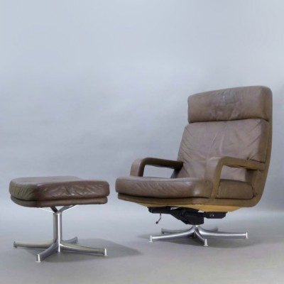 176 n Lounge Chair by Bernd Münzebrock for Walter Knoll
