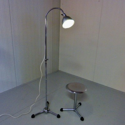 Industrial Floor Lamp by Unknown Designer for Maquet