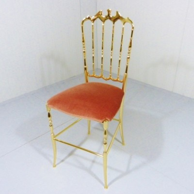 Vanity Side Chair Dinner Chair by Unknown Designer for Chiavari