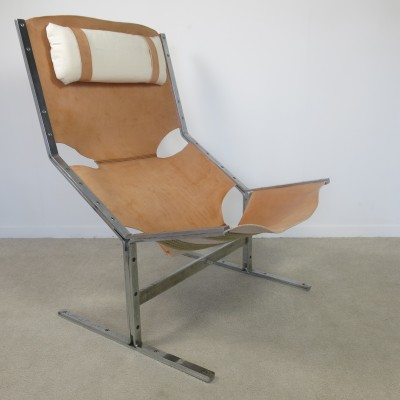 Pre-Production F444 lounge chair by Pierre Paulin for AP Originals, 1950s
