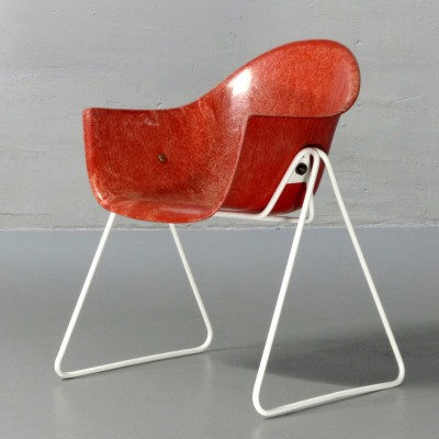 Children's chair by Walter Papst for Wilkhahn, 1960s