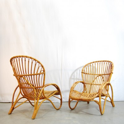 Type RB-2 Lounge Chair by Unknown Designer for Rohé Noordwolde
