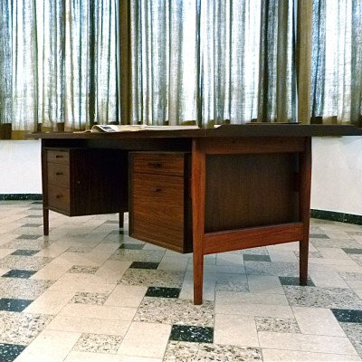 Executive Danish Writing Desk by Arne Vodder for Sibast, 1960s