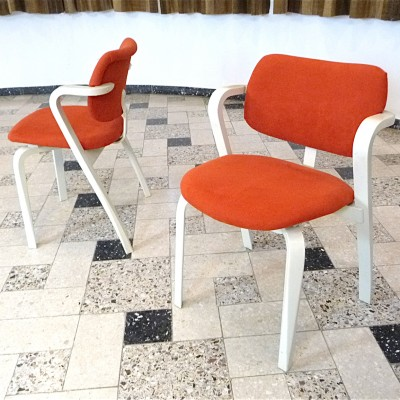 Set of 4 Aslak dinner chairs from the sixties by Ilmari Tapiovaara for Asko