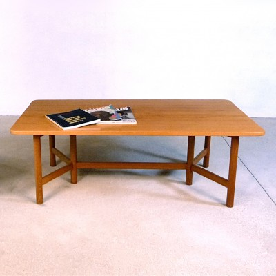 Coffee table from the sixties by unknown designer for Rasmus Solberg Cabinetmakers