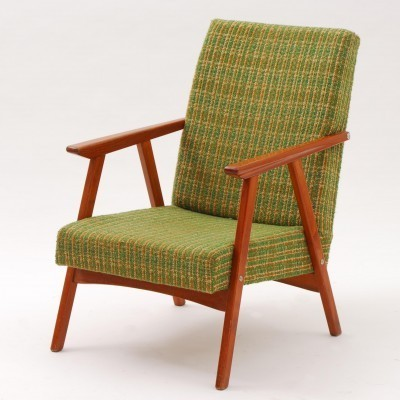 2 lounge chairs from the sixties by unknown designer for Dyha Brno
