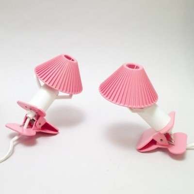 Pair of Night lamps desk lamps by Sarlam, 1960s