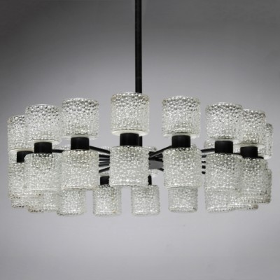 24 x Zonnewende hanging lamp by J W Bosman for Raak Amsterdam, 1960s
