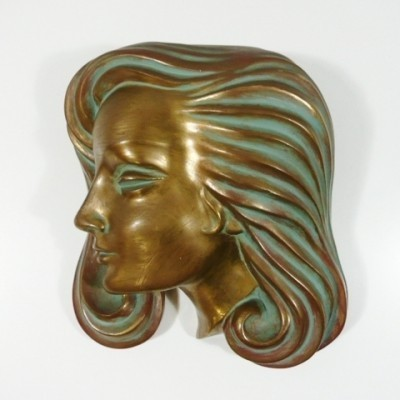 Wall Sculpture by Hans Schirmer for Achatit Werkstätten, 1950s