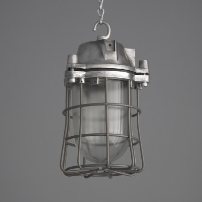 Eastern Bloc Caged Factory Pendant Lights