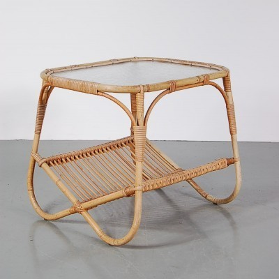 Coffee table from the fifties by unknown designer for Rohé Noordwolde