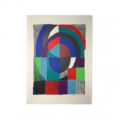Art from the sixties by Sonia Delaunay for unknown producer