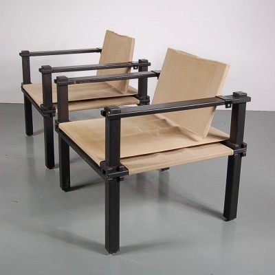 Pair of lounge chairs by Gerd Lange for Bofinger, 1960s