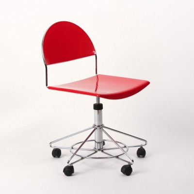 Franny office chair by Superstudio Design Team for Fasem, 1980s
