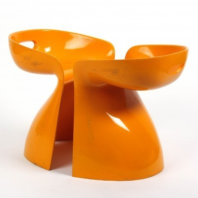 2 x Skulptuur dinner chair by Winifred Staeb, 1950s