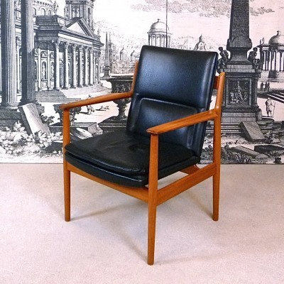Model 341 office chair by Arne Vodder for Sibast, 1960s