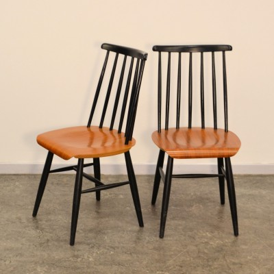 Set of 2 dinner chairs from the fifties by Ilmari Tapiovaara for unknown producer