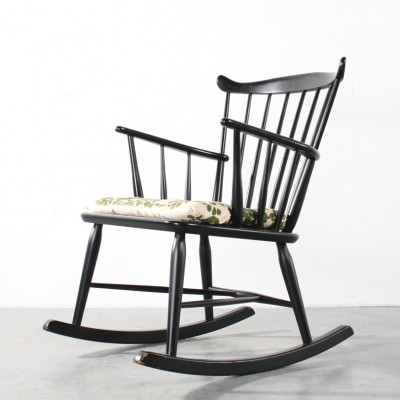 Rocking chair by Børge Mogensen for FDB Møbler, 1960s