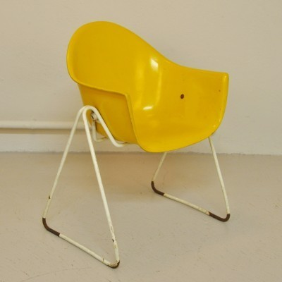 Children's chair by Walter Papst for Wilkhahn, 1950s