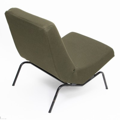 Pair of CM 194 lounge chairs by Pierre Paulin for Thonet, 1950s