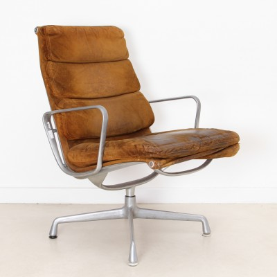 Lounge Soft Pad office chair by Charles & Ray Eames for Herman Miller, 1960s