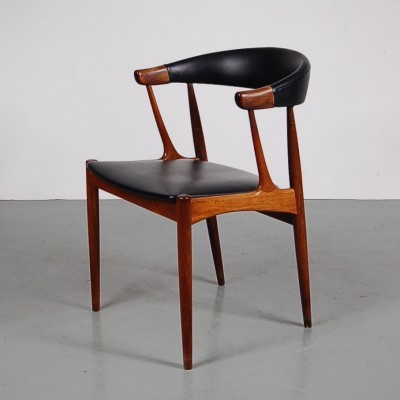 Set of 4 dining chairs by Johannes Andersen for Brdr. Andersens Møbelfabrik, 1950s