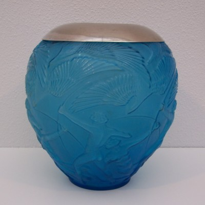 Archer vase by Rigolleau Glass Company, 1940s