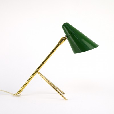 Desk lamp by Jean Boris Lacroix for Disderot, 1950s