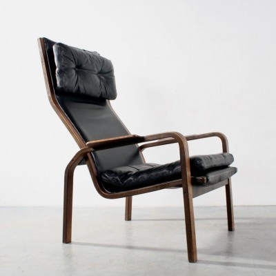 2 lounge chairs from the sixties by Yngve Ekström for Swedese