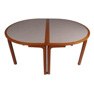 2 x dining table by Rud Thygesen & Johnny Sorensen for Farstrup, 1970s