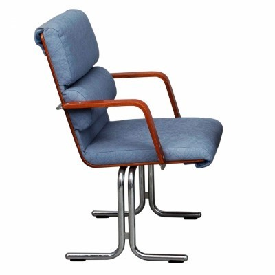 6 office chairs from the seventies by Yrjö Kukkapuro for Avarte Finland