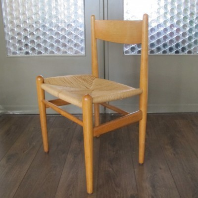 Set of 4 CH-36 dining chairs by Hans Wegner for Carl Hansen & Son, 1950s