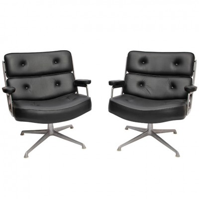 2 x Lobby office chair by Charles & Ray Eames for Herman Miller, 1960s