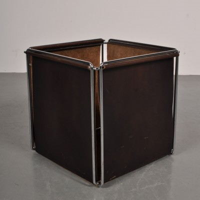 Magazine holder from the sixties by Max Sauze for Max Sauze Studio