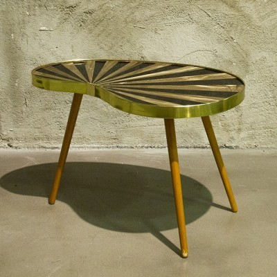2 side tables from the fifties by unknown designer for VEB Akli
