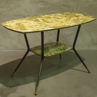 Italian beside table from the fifties