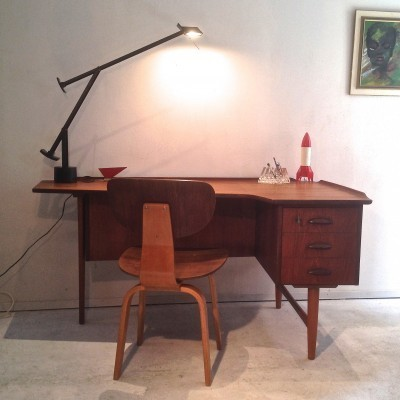 Writing Desk by Peter Løvig Nielsen for Hedensted Møbelfabrik