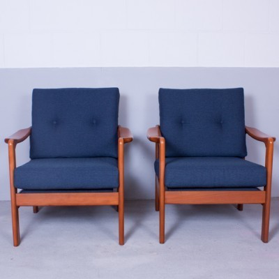 2 x lounge chair by Walter Knoll for Knoll Antimott, 1960s