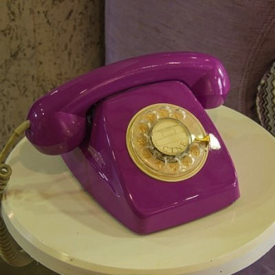 Telephone from the sixties by unknown designer for unknown producer