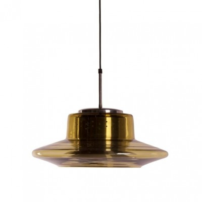 Hanging lamp from the seventies by unknown designer for Dijkstra Lampen