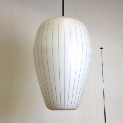 2 x NG 17 E /00 hanging lamp by Philips, 1950s