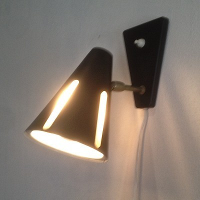 Zonneserie wall lamp from the sixties by H. Busquet for Hala Zeist