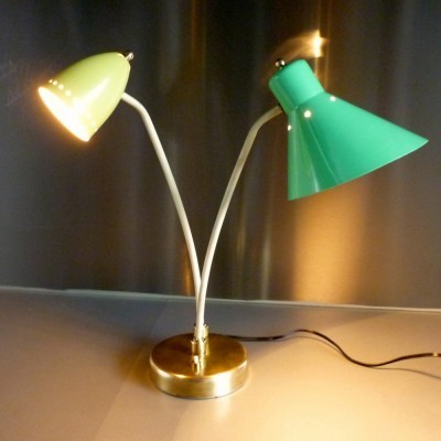 Desk lamp from the fifties by unknown designer for Stilux Milano