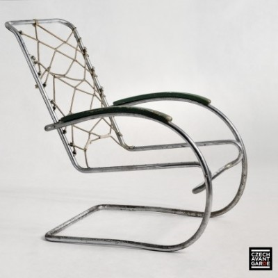 KS 46 lounge chair from the thirties by Anton Lorenz for Mücke Melder