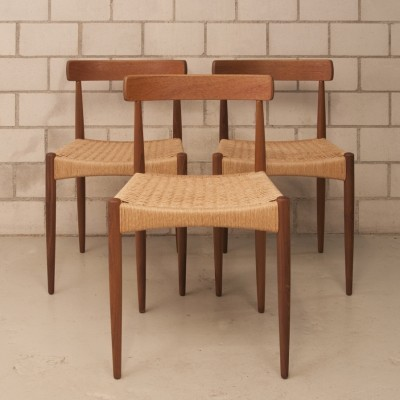 Dinner chair from the fifties by Arne Hovmand Olsen for Mogens Kold