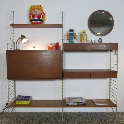 Wall Unit by Nisse Strinning and Kajsa Strinning for Unknown Manufacturer