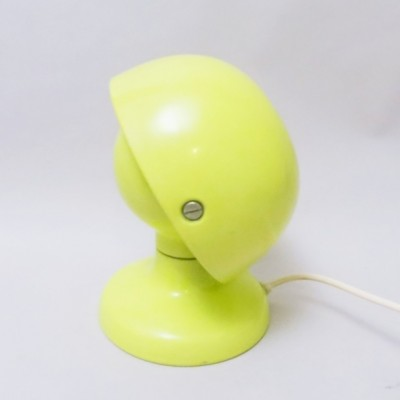 Yellow Jucker desk lamp from the sixties by Tobia Scarpa & Afra Scarpa for Flos